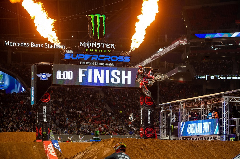 Calendario de Supercross 2021 | esdemotos.com