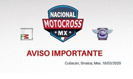 Pausa en el Nacional de Motocross