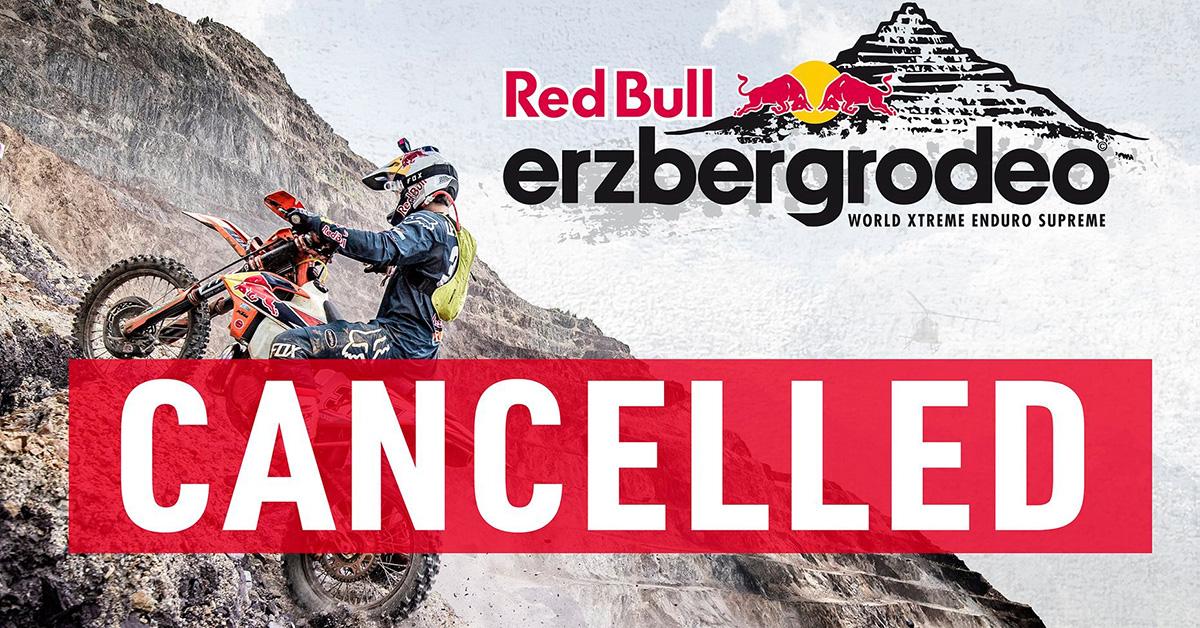 Cancelado Erzbergrodeo 2020