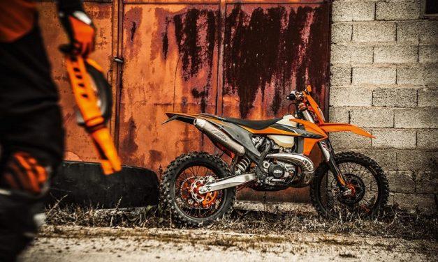KTM presenta modelos de Enduro 2021