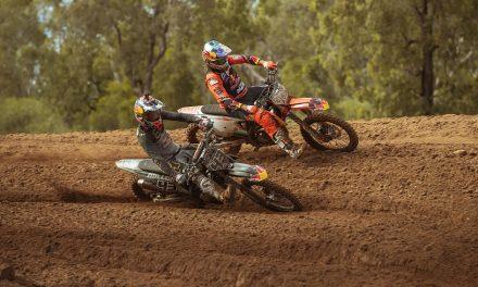 Miller y Price haciendo Motocross