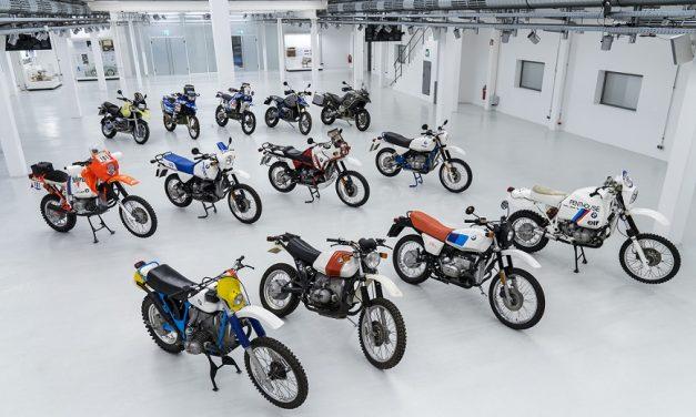 40 años de los modelos BMW GS