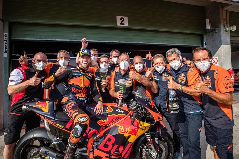 Histórica victoria de KTM en MotoGP