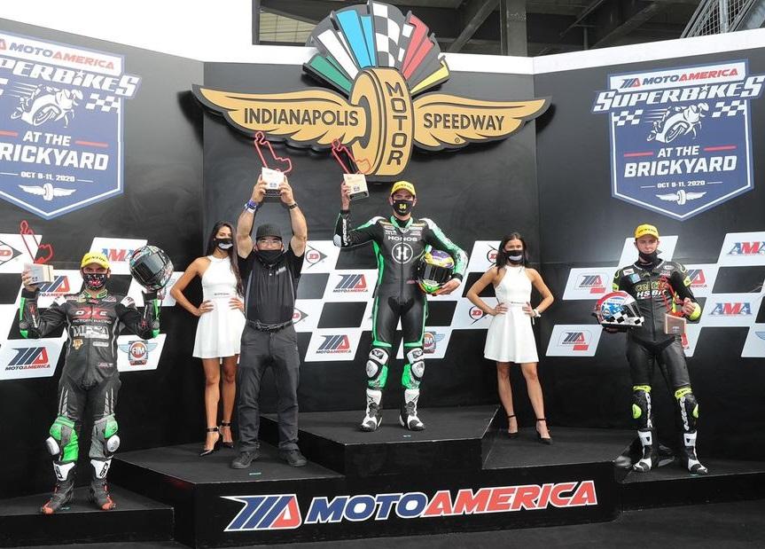 Richie Escalante Campeón en MotoAmerica