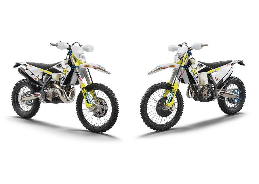 TE 300i y FE 350 Rockstar Edition