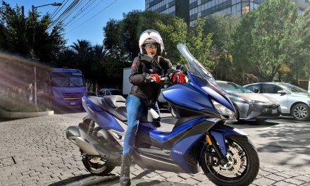 Kymco S 400: La urbana Premium