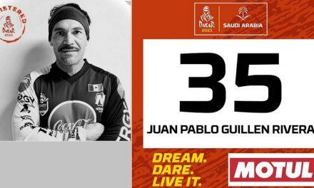 México en el Dakar con J.P Guillén