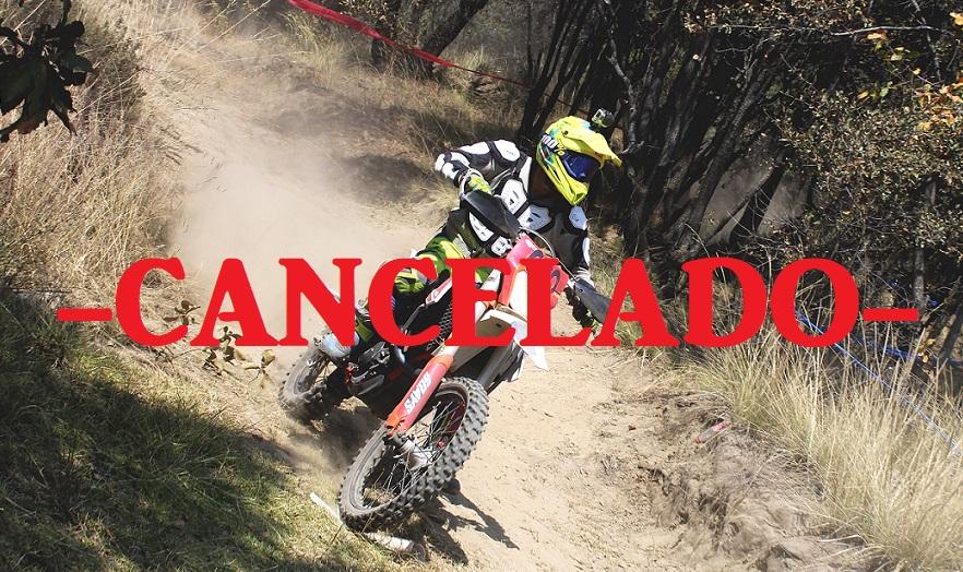 Cancelan 1ª Fecha del Nacional de Enduro