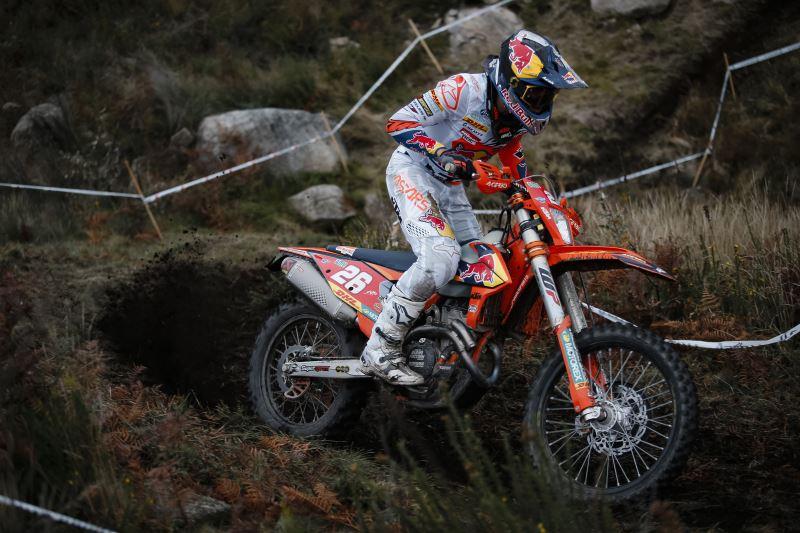 KTM con García regresa al EnduroGP