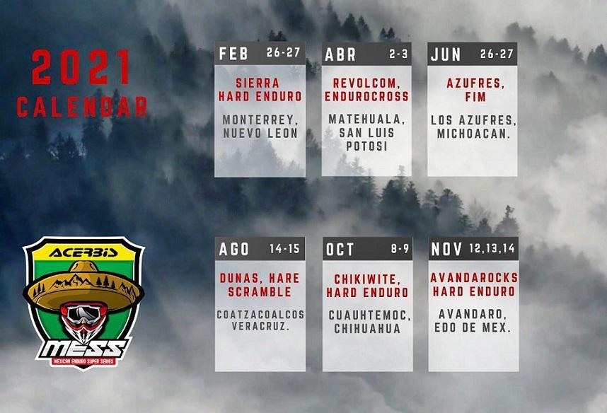 Actualización al Calendario MESS 2021