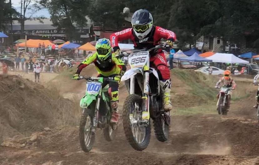 Motocross en Chiluca, Más de 200 pilotos