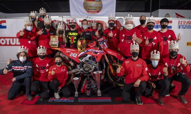 20 títulos Mundiales de Motocross en Honda