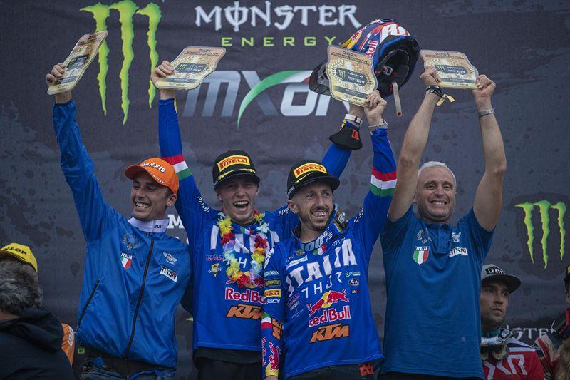 Italia Campeón del MXoN 2021