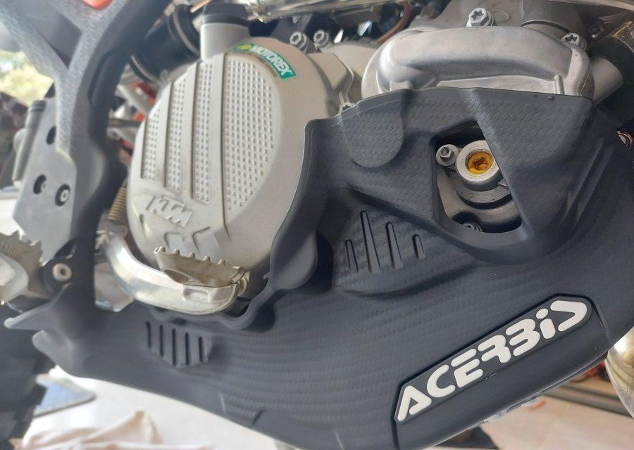 Test: skid plate Acerbis