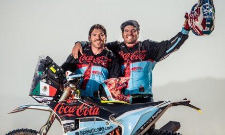 Juan Pablo y Antonio Vicente Guillén en Marruecos